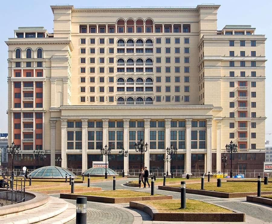 Гостиница «Москва» на Манежной площади