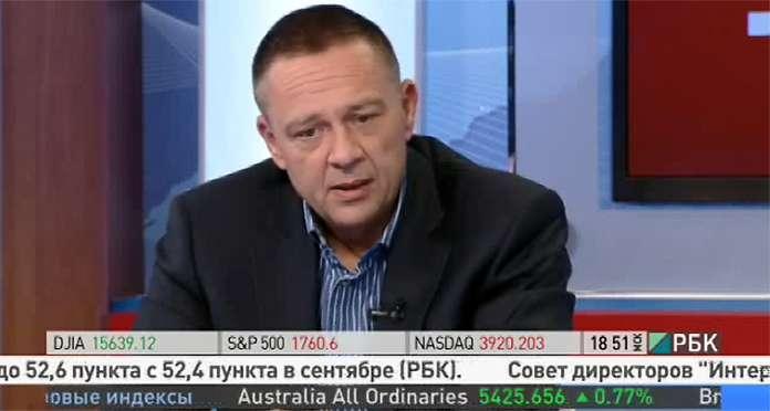 Степан Демура на телевидении