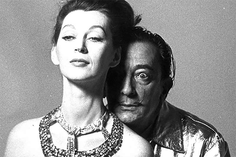 Елена Дьяконова и Сальвадор Дали (Elena Dyakonova and Salvador Dali)