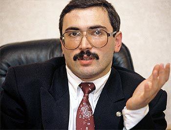 Михаил Борисович Ходорковский в молодости