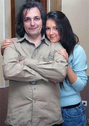 Нюша и её отец Владимир Вячеславович Шурочкин