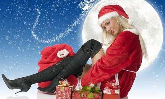 Снегурочка с подарками