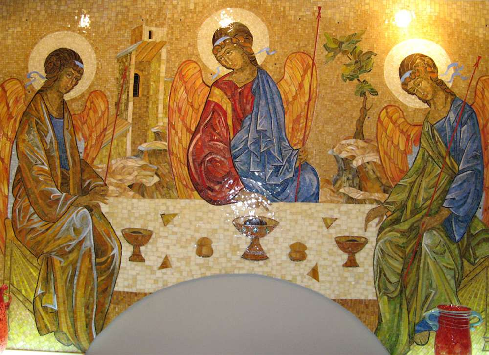 Пятидесятница (Троица) - икона