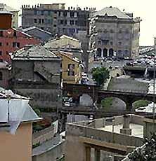 Генуя. Прибрежный район