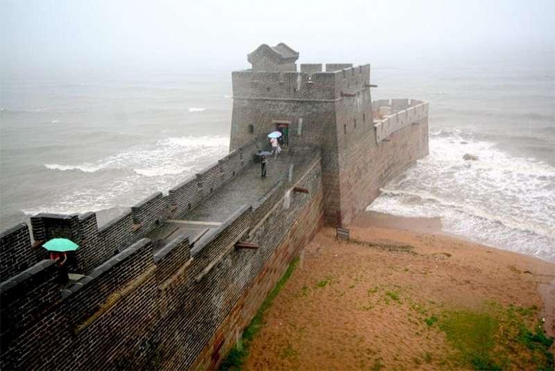 Шаньхайгуань - Великая Китайская стена - «голова дракона»