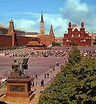 история кремля и красноватой площади