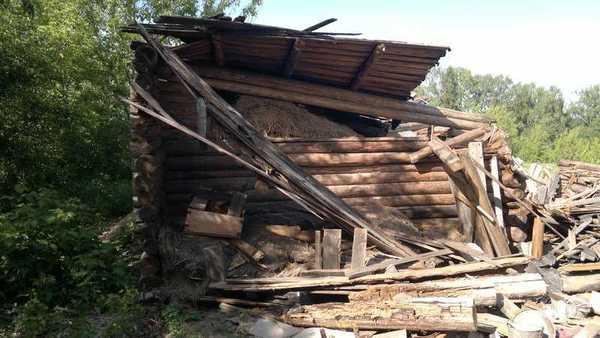 Сломанный дом
