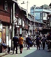 Старый район в Шанхае