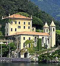 Вилла на озере Комо, Италия